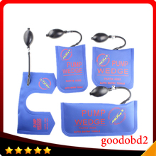 KLOM Pump Wedge Airbag New for Diagnostic Tools Air Wedge Locksmith Tools Lock Pick Set Open Car Door Lock Blue Color 4pcs/lot