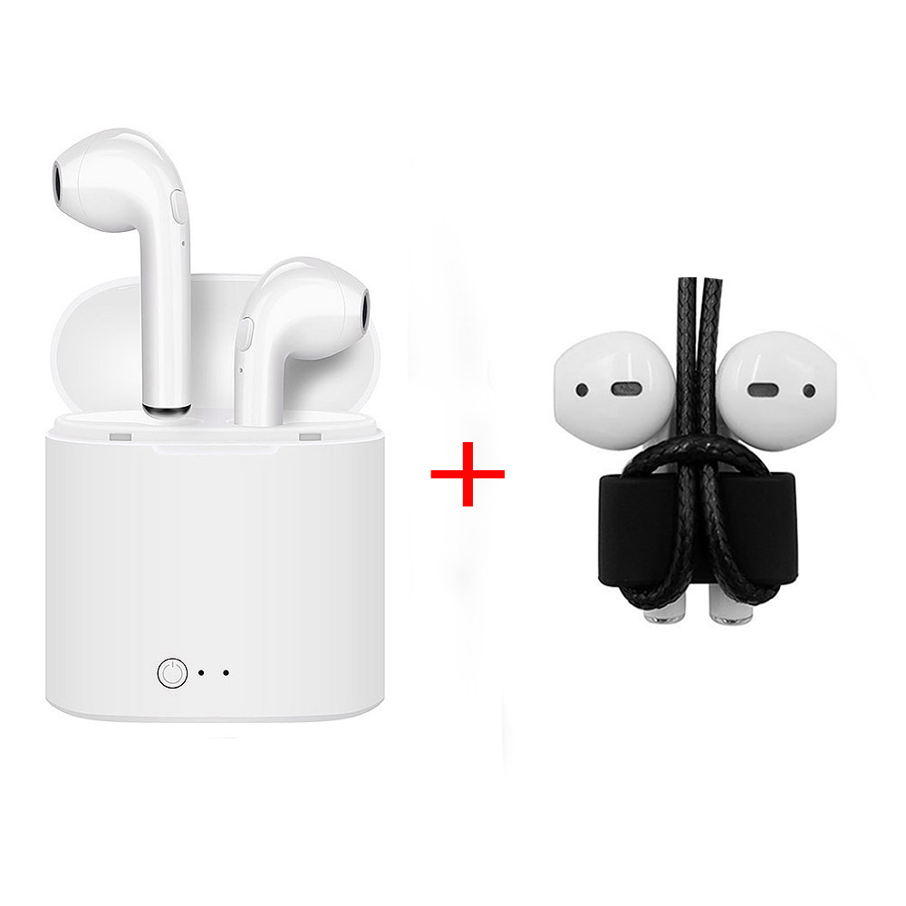 I7S TWS Bluetooth Earphone Wireless Earpiece Cordless Headphone Stereo Sport In Ear Earbuds Headset for Phone IPhone Samsung awei headset headphone in ear earphone for your in ear phone buds pc iphone samsung xiaomi with mic microphone earbuds earpiece