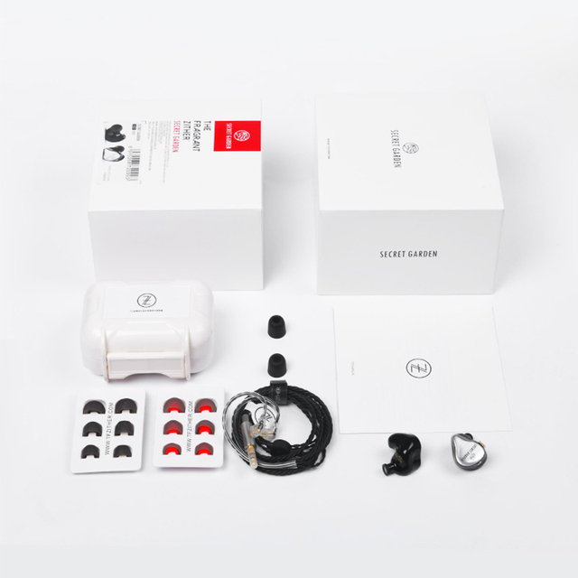 TFZ SECRET GARDEN HiFi HD Dynamic Driver In-ear earphone with 2Pin/ 0.78mm Detachable IEM Rich Bass 6