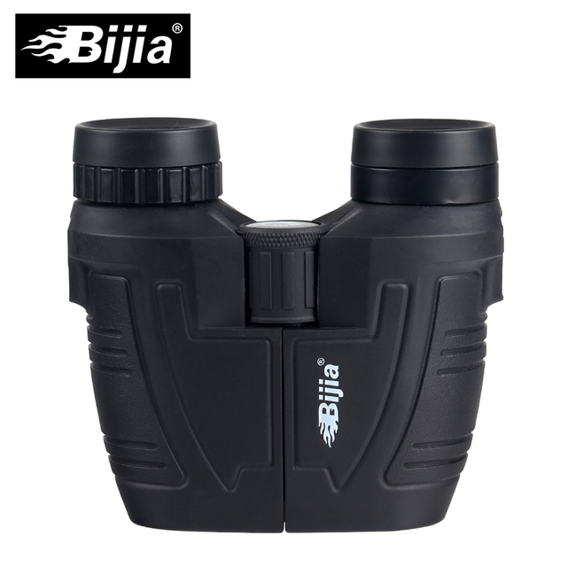 BIJIA 12x25 BAK4 prism high definition porro binoculars portable telescope professional hunting optical outdoor sports