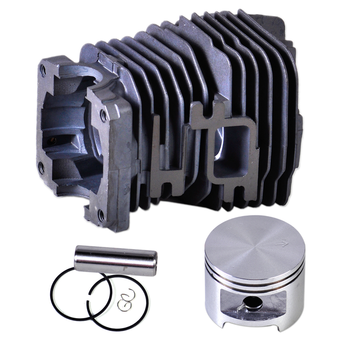 LETAOSK New 49mm Cylinder Piston kit fit for Stihl MS390 MS290 MS310 029 039 47mm cylinder piston kit for stihl ms310 ms 310 rep 1127 020 1218
