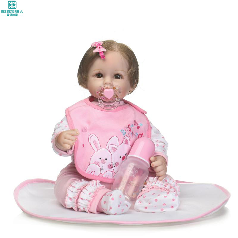 50cm doll baby born Silica gel baby Photography baby doll for Child's Christmas birthday gifts ws 0237 sugar cake baby clothes liquid silica gel mold