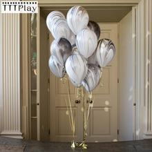 Hot Sale 10pcs/lot 12inch Rainbow Printed Latex Balloons Inf