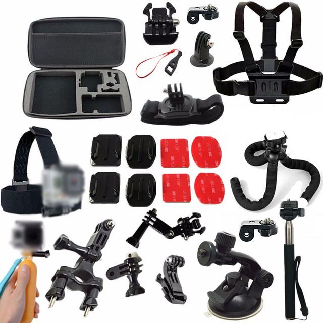Acessórios da câmera ação conjunto de montagem para sony ação cam hdr AS15 AS20 AS200V AS100V AS30V AZ1 mini FDR-X1000V/W ÍON Ar Pro