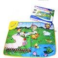 Бесплатная Доставка Счастливая ферма музыка ковер ребенок геймпад ребенка ползать коврик 35*25.5*4 см оптовая