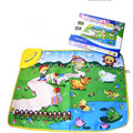Free Shipping Happy farm music carpet baby game pad baby crawling mat 35*25.5*4cm wholesale