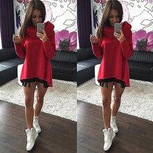 Women Casual Cowl Neck Long Sleeve Sweatshirt Fashion Pullover Top