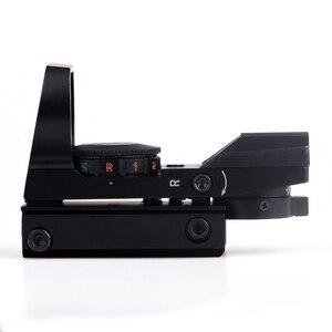 Image 4 - BIJIA منظر نقطة حمراء 11 مللي متر/20 مللي متر السكك الحديدية Riflescope قناص مسدس Airsoft مسدسات الهواء ريفلكس بندقية نطاقات المجسم البصر الصيد نطاق