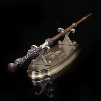 Harry Potter Magic Wand Display Stand High Quality Metal Retro Wands Holder Limited Supply