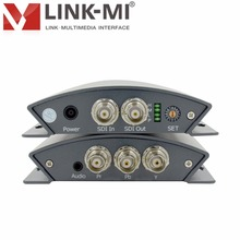 LINK-MI LM-PSY01 Professional SD/HD/3G SDI to YPbPr Converter Audio control DIP Switch BNC Connector input signal adaptively