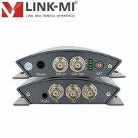 Link ми lm psy01 Профессиональный SD/HD/3G SDI в конвертер YPbPr управления звуком DIP переключатель разъем BNC входной сигнал адаптивно