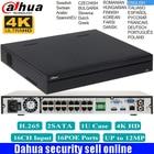 Original DaHua mutil language 16/32 Channel 1U 16PoE Ports 4K Network Video Recorder NVR5216-16P-4KS2 & NVR5232-16P-4KS2 H.265
