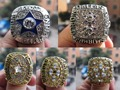 Free Shipping 1971 1977 1992 1993 1995 Dallas Cowboys Superbowl Championship Ring five together sport fan gift football ring
