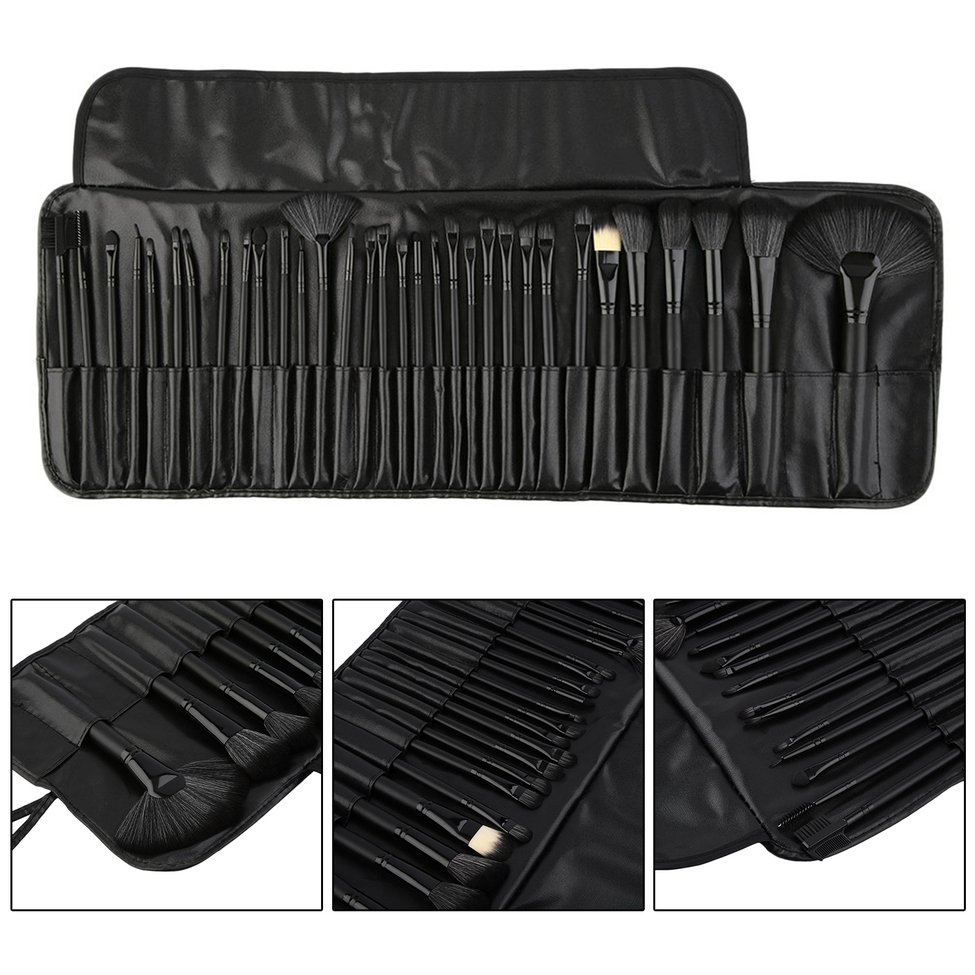 Professional 32PCS/ set Makeup Brush Set tools Make-up Toiletry Kit Wool Make Up Brush Set Soft Synthetic Hair
