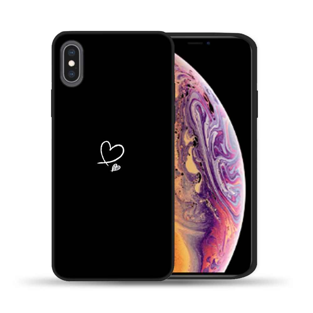3D บรรเทากรณีสำหรับ iPhone 6 6s 7 8 Plus X 5 5s SE ปกน่ารัก soft TPU Capa สำหรับ iPhone 11 Pro XR XS Max