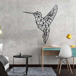 3D Geometry Bird Self Adhesive