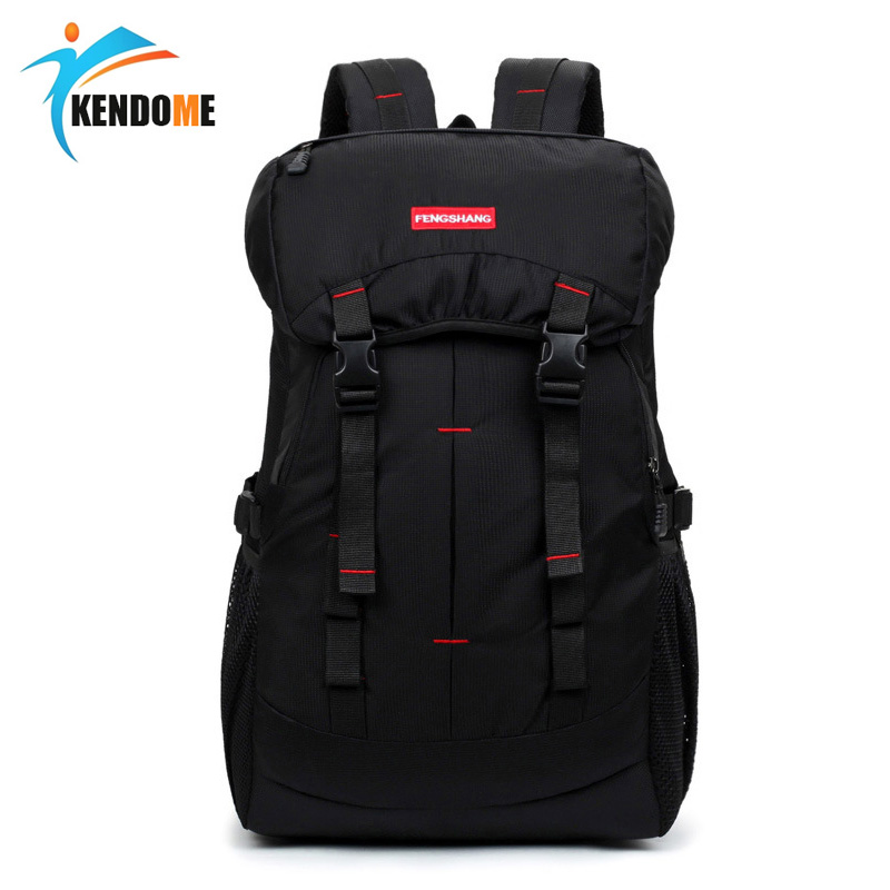 New Arrival Outdoor Waterproof Nylon Sports Bag Camping Hiking Backpack TravelMountain Climb Equipment Rucksack 40L Bags