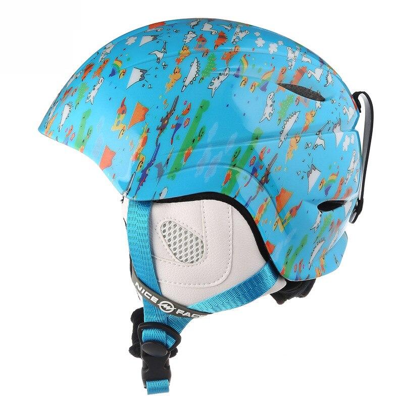 Casque de sport équipement de protection de ski hommes femmes simple et double casque de bord enfants équipement de neige réglable hors route helme