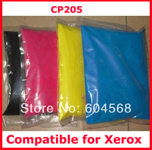 High quality color toner powder compatible for Xerox cp205/c205/205 Free Shipping