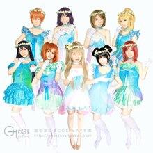 Personalizada de Moda Japón Anime Love Live! Ropa de Cosplay (La Primera prueba) Lovelive Yume no Tobira Cosplay Vestido