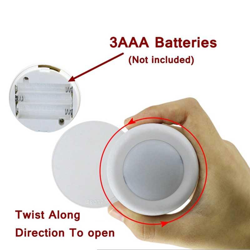 Télécommande sans fil RGBW 12 couleurs capteur tactile Dimmable led sous la lumière du Cabinet pour fermer la lampe de nuit de couloir d'escalier de garde-robe