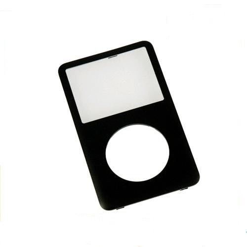 Black Front Faceplate Housing Case Cover for iPod 5th Gen Video