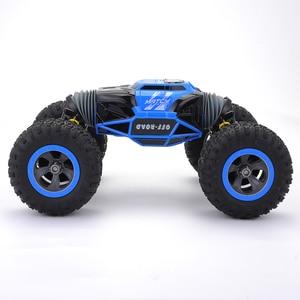 Image 3 - Cymye voiture radiocommandée 4WD Double face, 2.4GHz, une clé, Transformation, véhicule tout terrain, Varanid, camion descalade