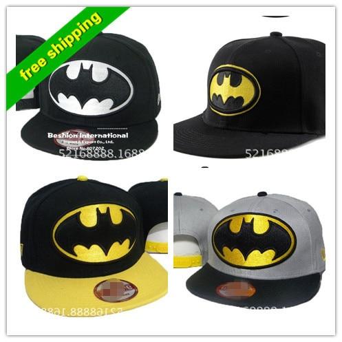 Prix pour Bboy hip-hop chapeau hiphop hip-hop chapeau plat le long chapeau batman SNAPBACK réglable casquettes plates pour hommes et femmes