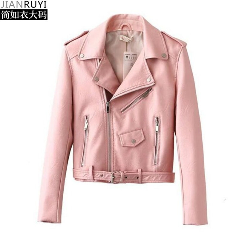 Popular Pink Leather Jacket-Buy Cheap Pink Leather Jacket lots