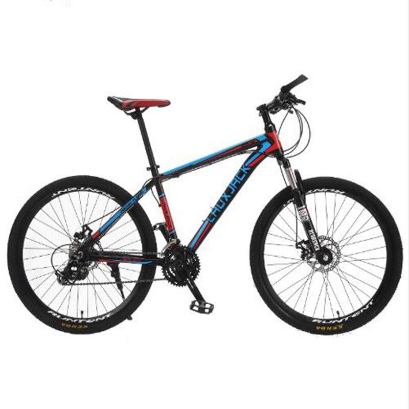 LAUXJACK Mountain Bike Aluminium Frame 24Speed Shimano Mechanic Brake 26