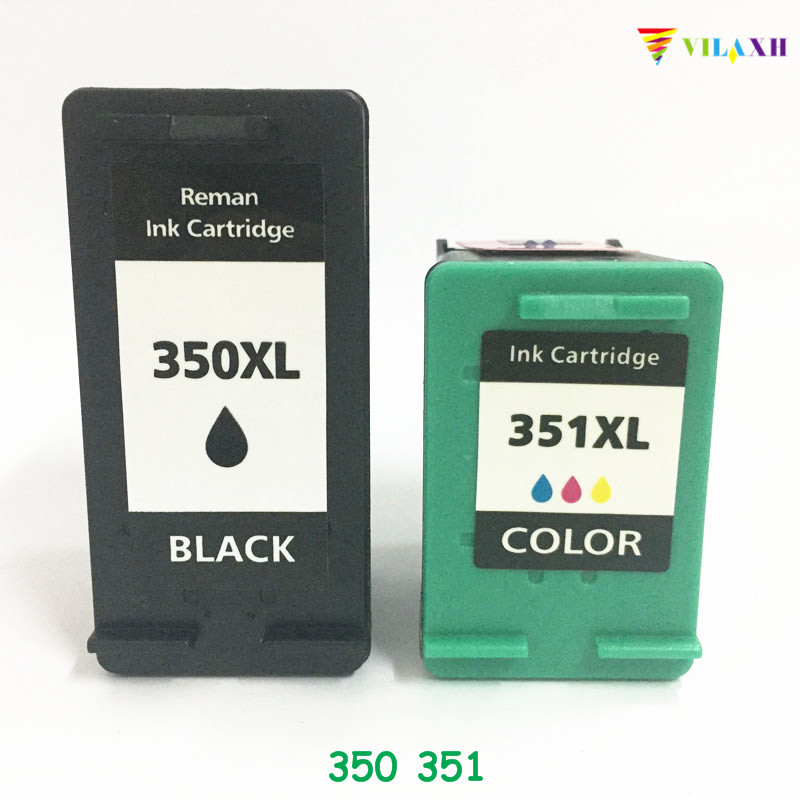 vilaxh 350XL 351XL Compatibele inktcartridge vervangen voor HP 350 - Office-elektronica