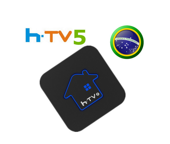 """Prix pour HTV 5 H. TV 5 PLUS Brésilienne (portugais) """"Jarvis"""" IPTV TV Boîte avec Des Films En Streaming 4 K HD HTV5"""