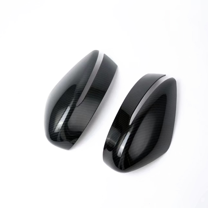 Outer Side Door Rear View Mirror Decoration Cover Trim 2pcs For Nissan Kicks 2016-2018 For Nissan Leaf 2018