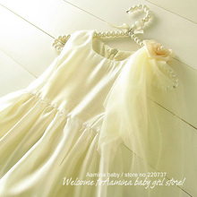 Wholesale, baby girls wedding dress,new summer baby girl clothes, 5pcs/lots (2002099)