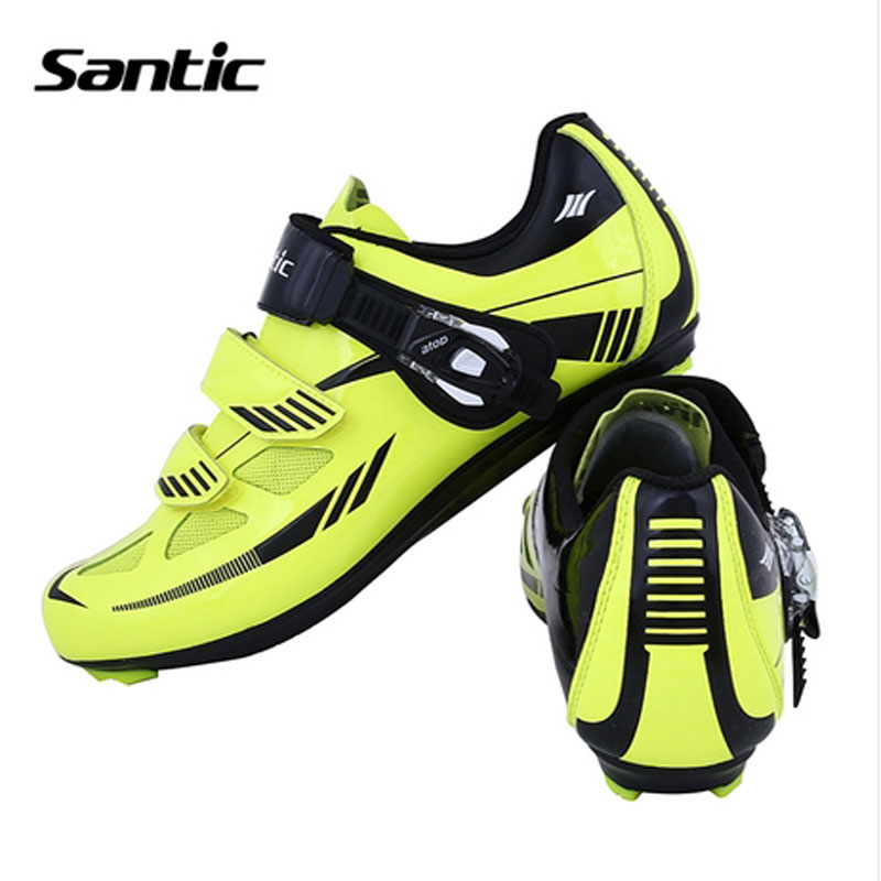 Santic 2017 Men Cycling Shoes Nylon TPU Breathable Locking Shoes Outdoor Waterproof Road Bike Shoes Sneakers For Bicycle Sports veobike men long sleeves hooded waterproof windbreak sunscreen outdoor sport raincoat bike jersey bicycle cycling jacket