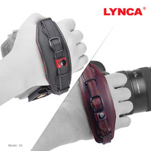 LYNCA Leather Strap Camera Hand Grip Wrist Belt with Quick Release Screw for Canon Nikon Pentax SLR DSLR Cameras strap