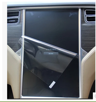 Coche de la Pantalla de Vidrio Templado Película Protectora Pegatina Estéreo AutoRadio DVD GPS Multimedia Para Tesla Modelo X Modelo S 17 pulgadas