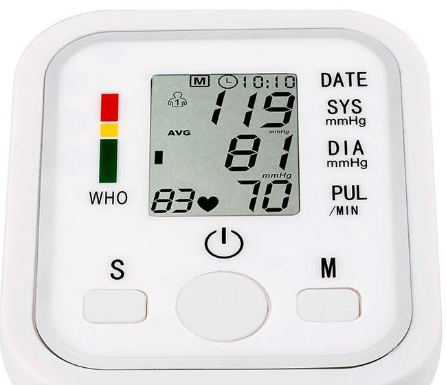 Цифровой предплечье Приборы для измерения артериального давления импульса Мониторы S Портативный манжеты для измерения Приборы для измере...