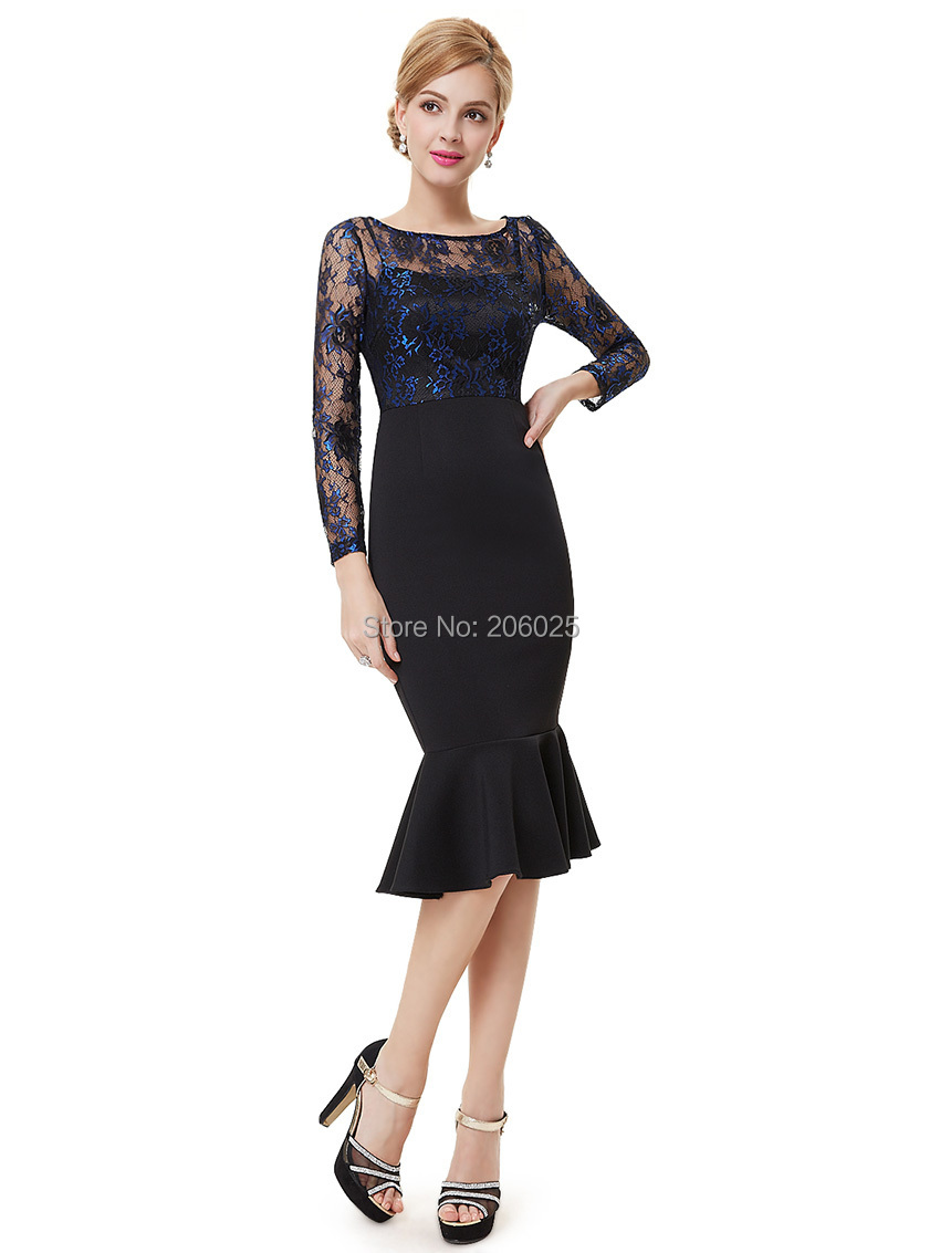 Clearance Sale] Sexy Cocktail Dress Ever Pretty HE08455 Knee Length ...