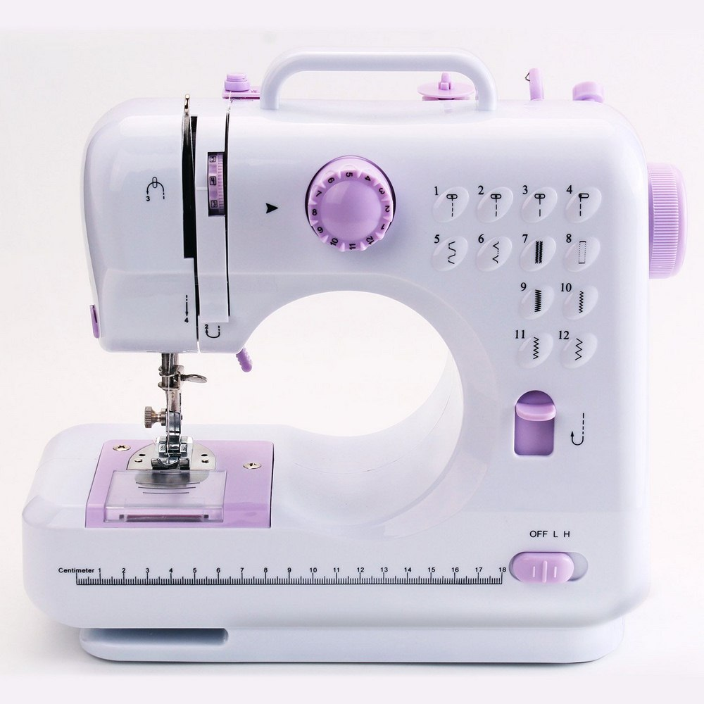Fanghua 505A Electric Sewing Machine 12-Pin  Electric Mini Portable Two-Wire Two-Speed DC Electric Pedal Sewing Machine