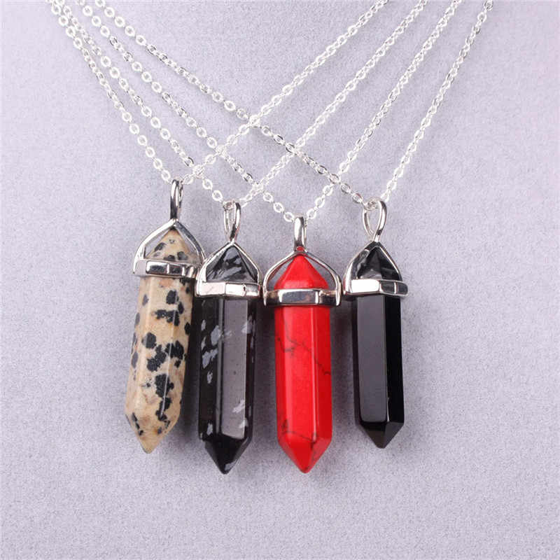 Druzy modna biżuteria naturalny naszyjnik z kamienia czarny awenturyn Anyolite mauve GoldenSandStone balmatin opal kolye