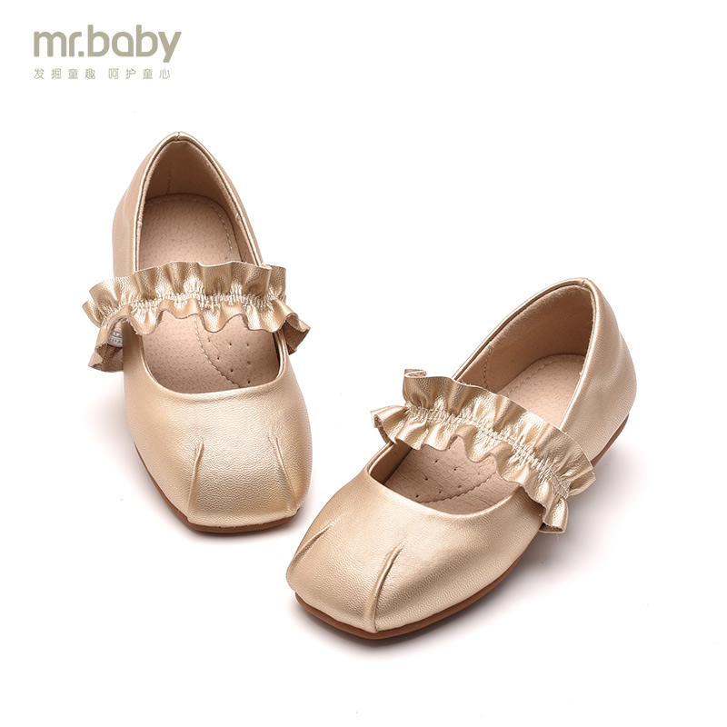 Mr.baby girls shoes 2018 spring and autumn new childrens dance shoes childrens shoes pupils dance shoes