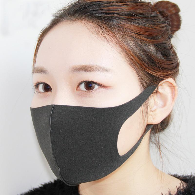 Anti Pm2 Mouth Haze Bacteria Mask 5 Muffle Filter Nose Cute Fabric Face Cotton Windproof Flu Cloth Black Respirator Dust