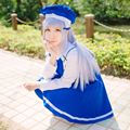 OHCOS Is the Order a Rabbit Gochumon wa Usagi Desu ka Chino Kafuu Long Straight Cosplay Wigs Peruca +Free Hairnet