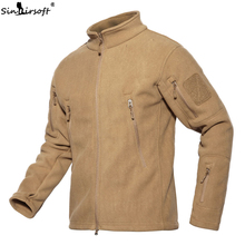 Men's Military Tactical Catching Fleece Catching Fleece Shark Skin Soft Shell Outdoor Warm Inner Fleece Fleece
