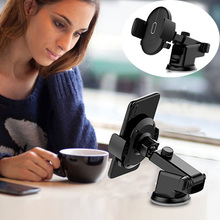 Universal Suction Cup Car Phone Holder Auto Vehicle Dashboard Windshield Stand B