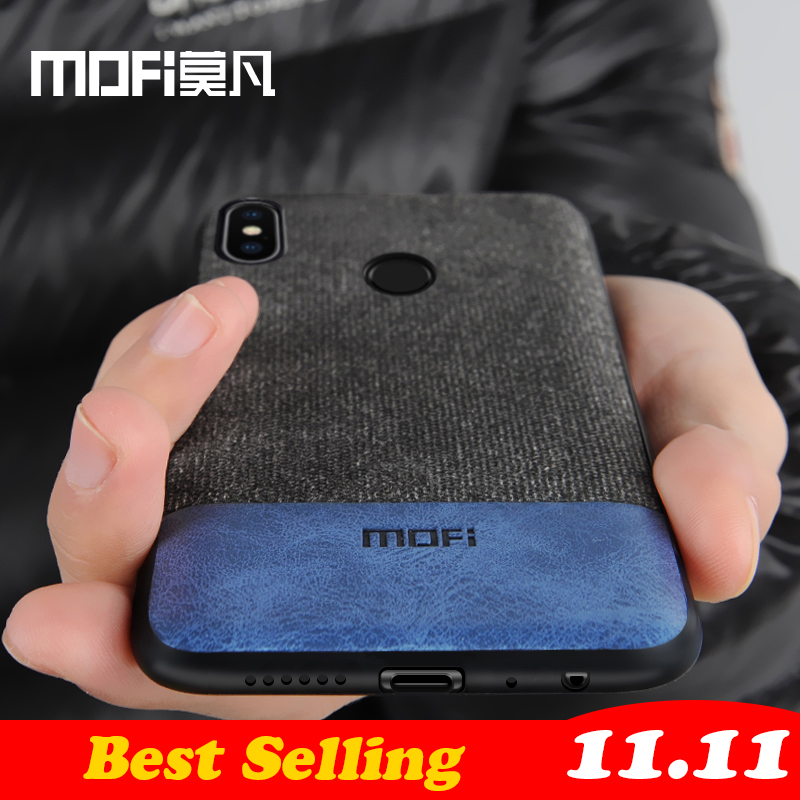 Funda Xiaomi Redmi Note 5 funda note5 versión Global funda trasera de silicona borde funda de tela coque MOFi Redmi note 5 pro funda