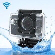 """SJ 2.0 """"WIFI 1080 P 12MP Negro Deportes DV Cam DVR Acción Go Pro Videocámara de la Cámara A Prueba de agua"""