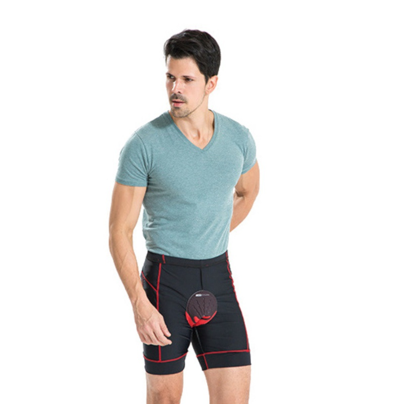 Breathable Comfort Quick Cycling Sport Underwear Compression Tights Shorts 3D Silicone Shorts