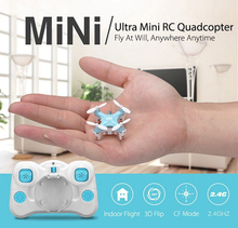 F16227/8 JJRC DHD D1 Supper Mini Pocket Drone 2.4G 4CH Smallest RC Helicopter Headless Mode 6-Axle Gyro RC Quadcopter